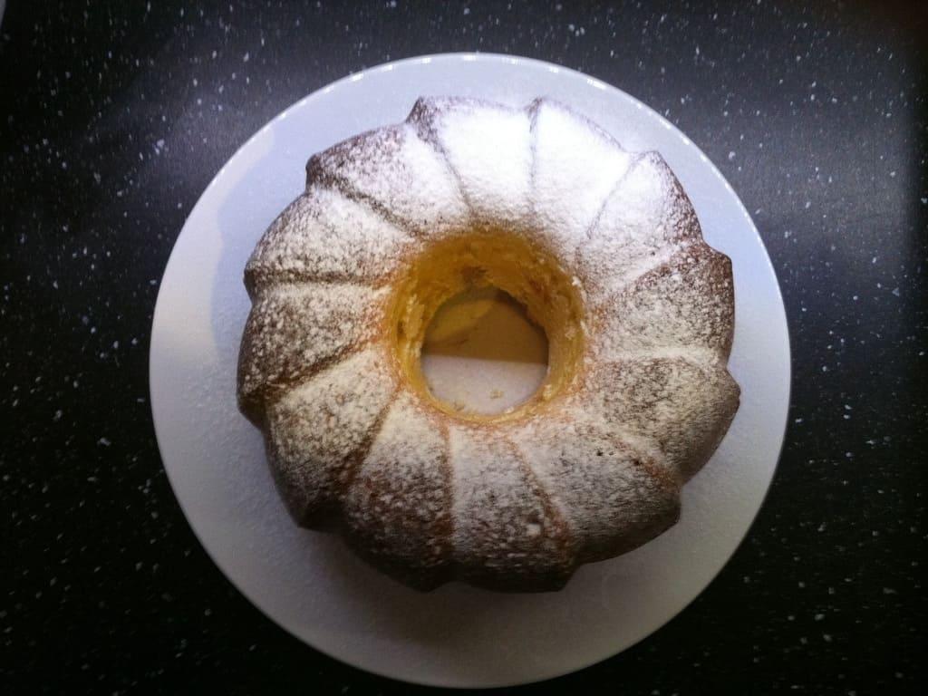Joghurtkuchen mit Orange