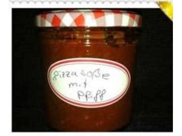 Pizzasauce mit Pfiff (nur für Erwachsene)