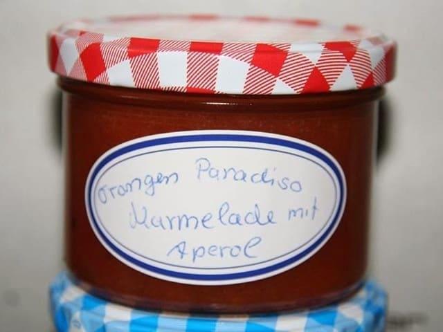 Orangen Paradiso Marmelade