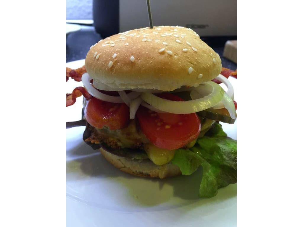 Bacon Jam Offenbarung für einen Burger