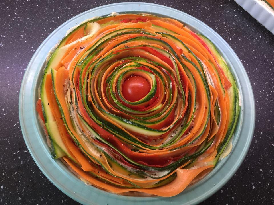 Gemüsepie / Gemüsetarte der Eyecatcher o