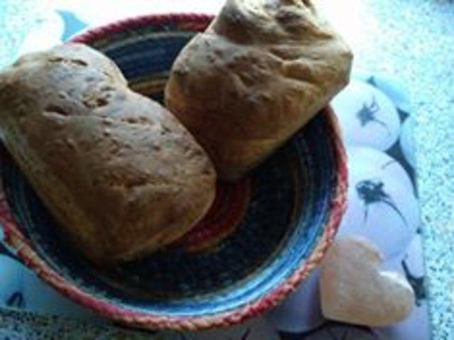 Dinkel-Roggen-Chia Brot aus dem Airfryer