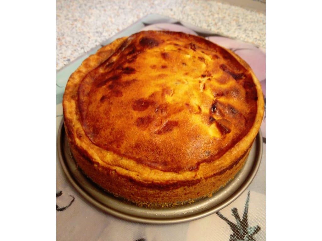 Small Steps Käsekuchen (Dreh dich rum Kuchen) aus dem Airfryer