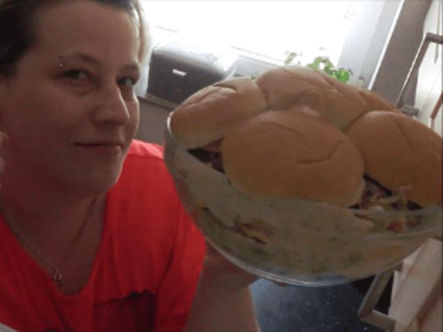 Bic Mäc Salat // Fussball Salat ( Schichtsalat )