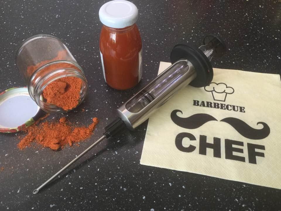 Rub und Injektion für Pulled Pork aus dem Ofen