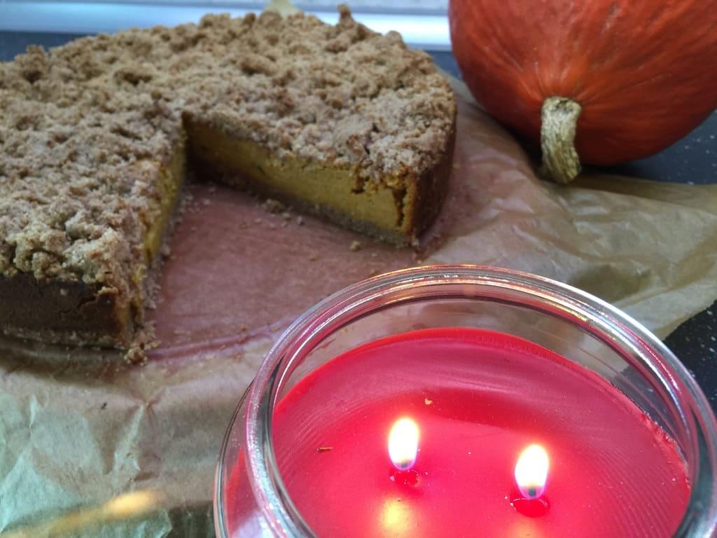 KitchenAid® Pumpkin Spice Käsekuchen mit Zimt