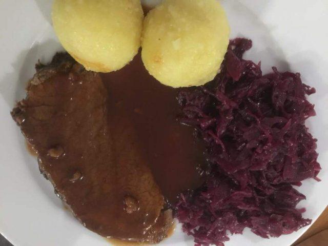 BBQ Rinderbraten aus dem Ofenmeister