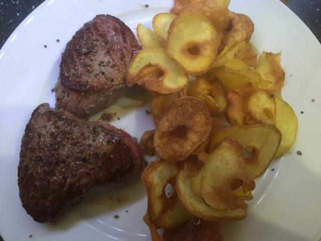Chips mit Pampered Chef