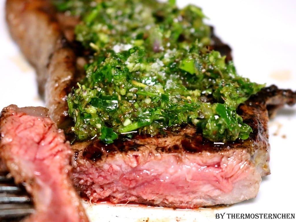Chimichurri argentinische Steaksauce