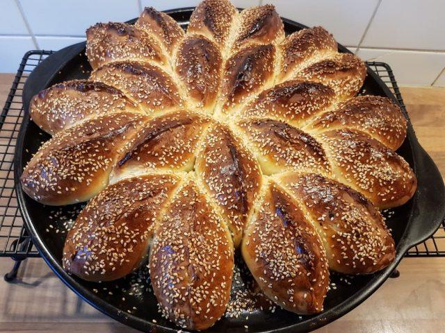Gefüllte Spinat Feta Päckchen auf dem ROCKCROK®-Grillstein