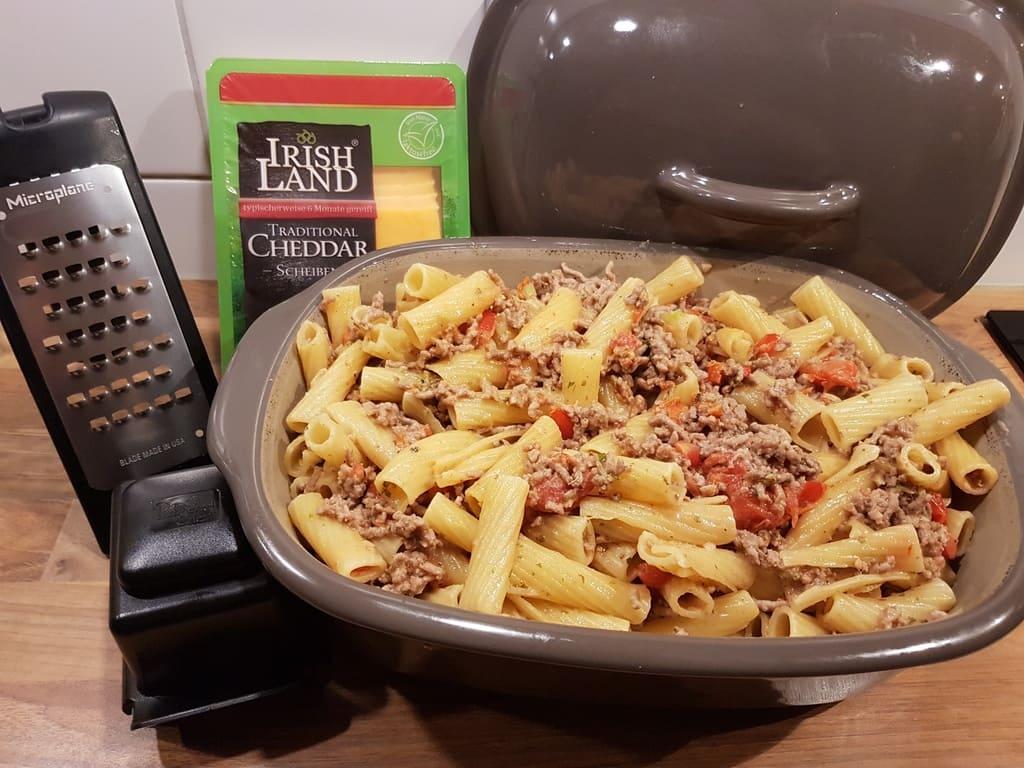 Tortiglioni im Ofenmeister von Pampered Chef