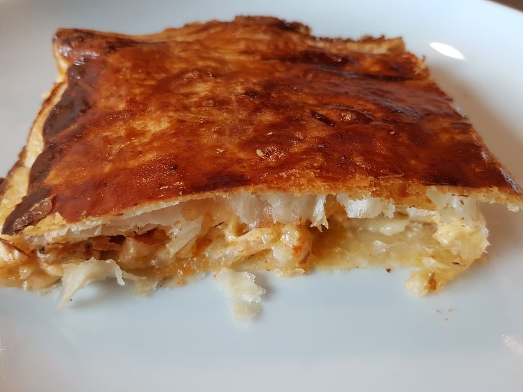 Blätterteig Überraschung mit versteckten Grillfackel Fleisch vom Zauberstein®