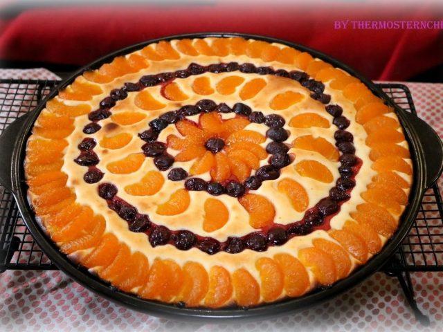 Quarkrührkuchen auf dem Rockcrok von PamperedChef®