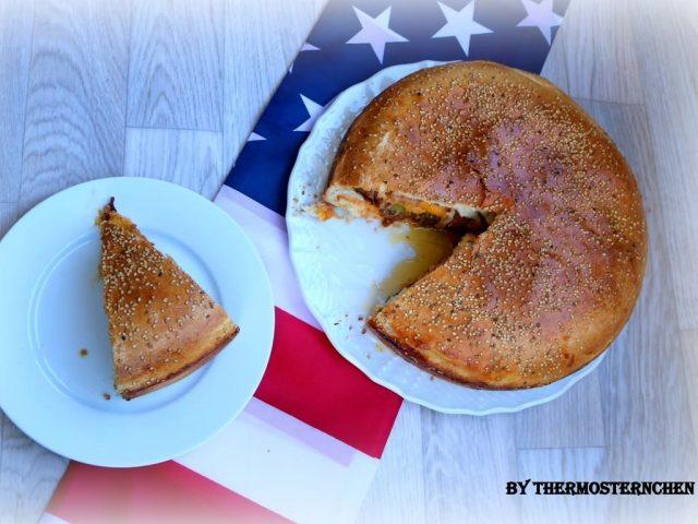 XXL Burger Amerikan Style