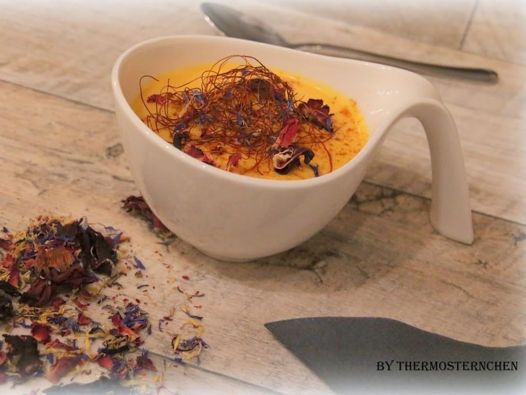 Birnen-Curry-Suppe warm und kalt ein absoluter Genuss