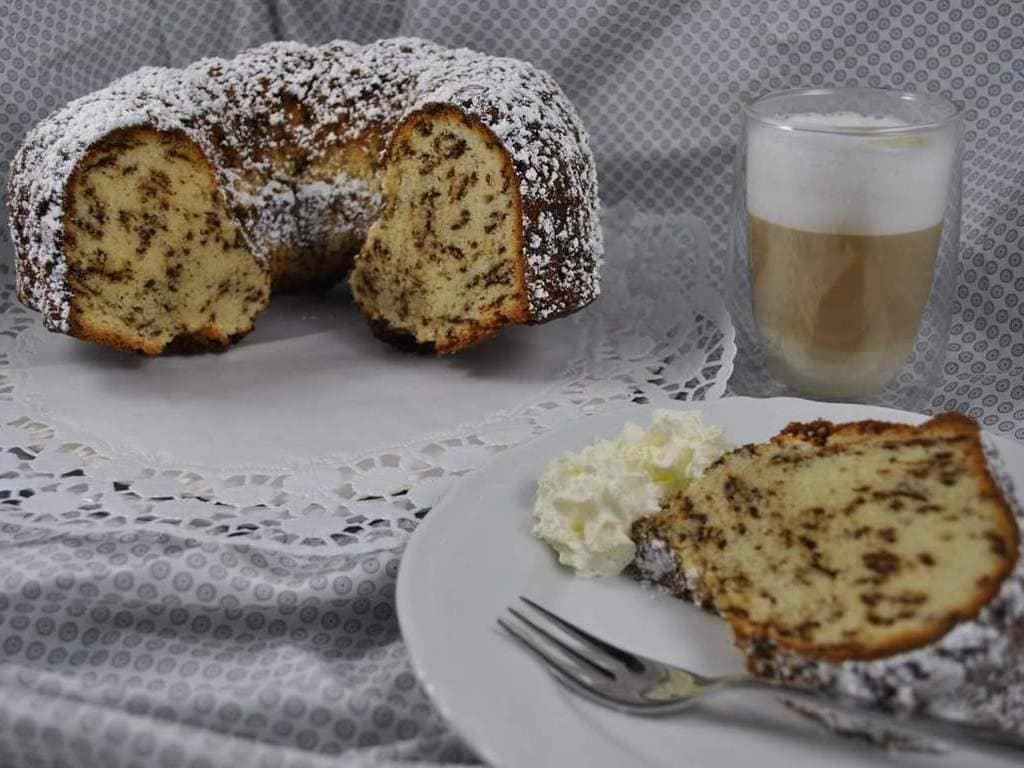 Stracciatella Kuchen im Zauberring