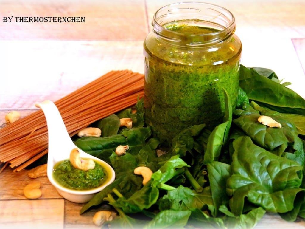 Baby-Spinat-Pesto