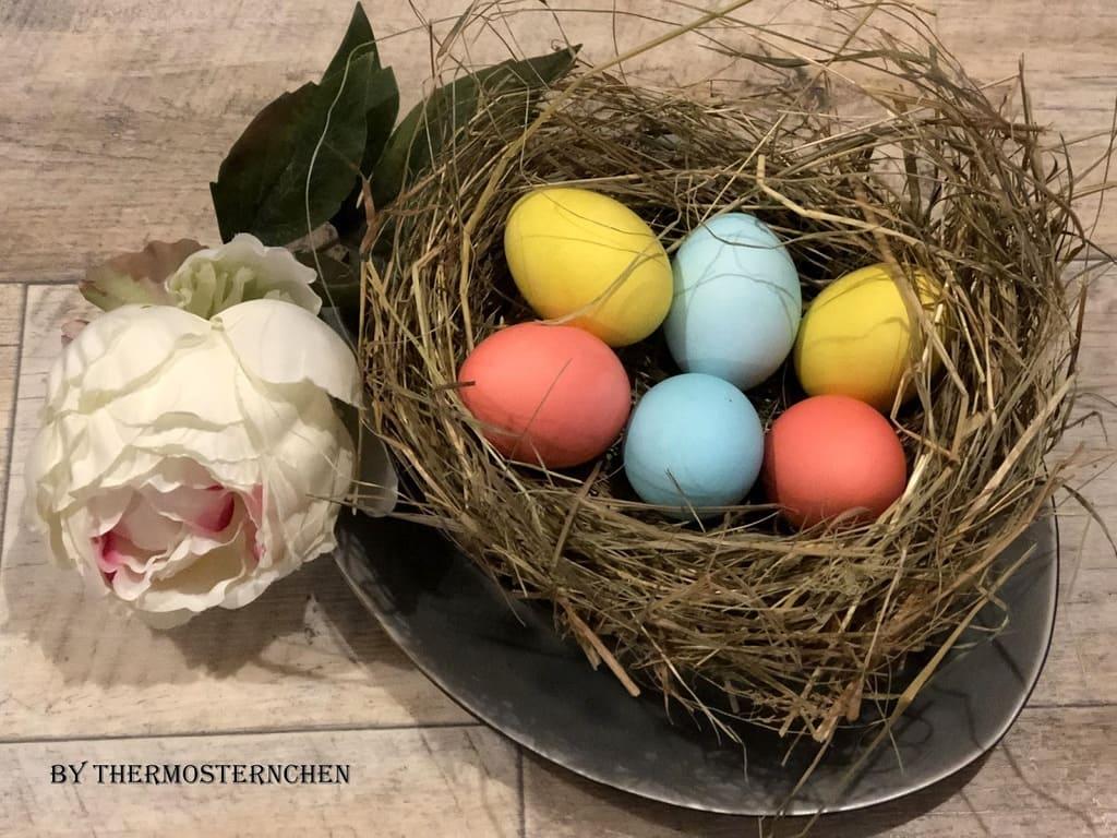 Eier färben und kochen in einem Schritt im Thermomix®