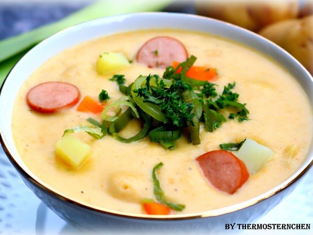 Cremige Kartoffelsüppchen / Kartoffelsuppe