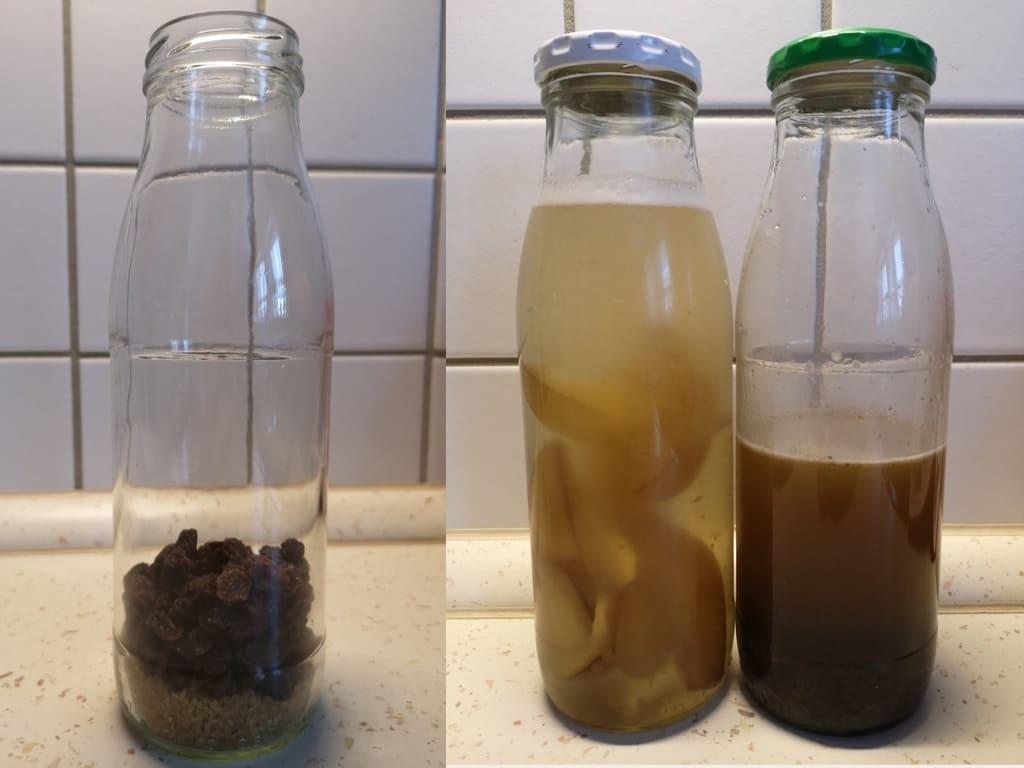 Hefewasser / Fermentwasser (Wildhefe)