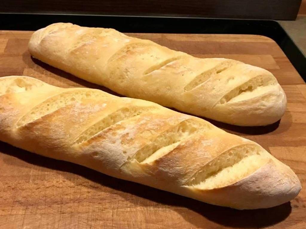 Knusper-Baguette ohne Gluten