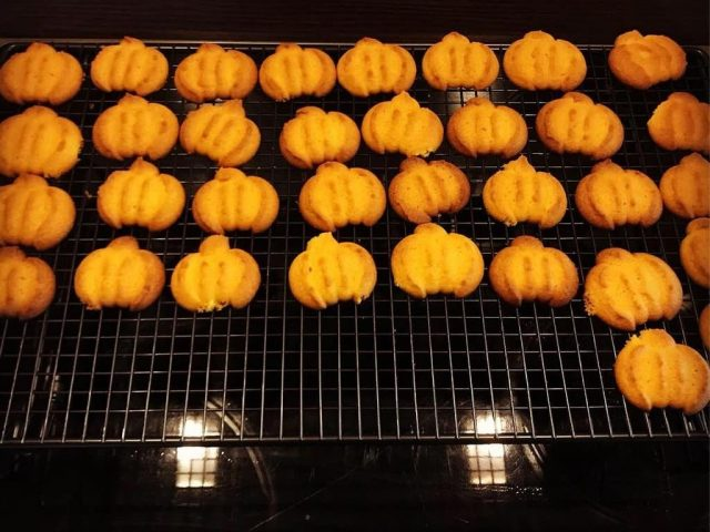 Kürbis-Kekse aus Kürbispüree