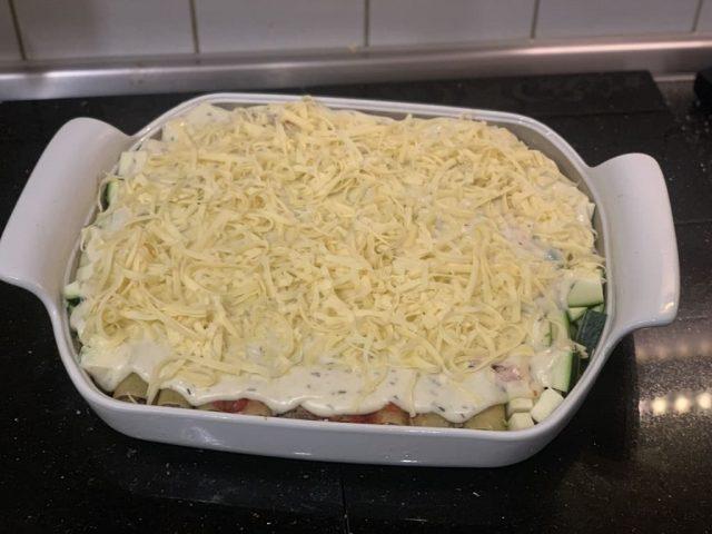 Cannelloni aus dem flachen Bäker von Pampered Chef