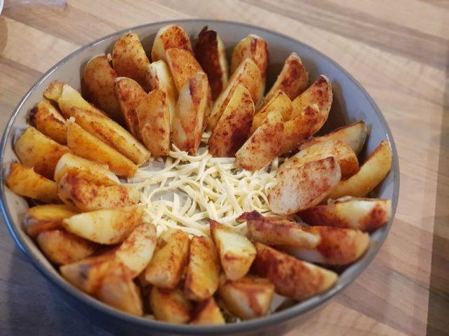 Cheese Wedges aus der Stoneware rund