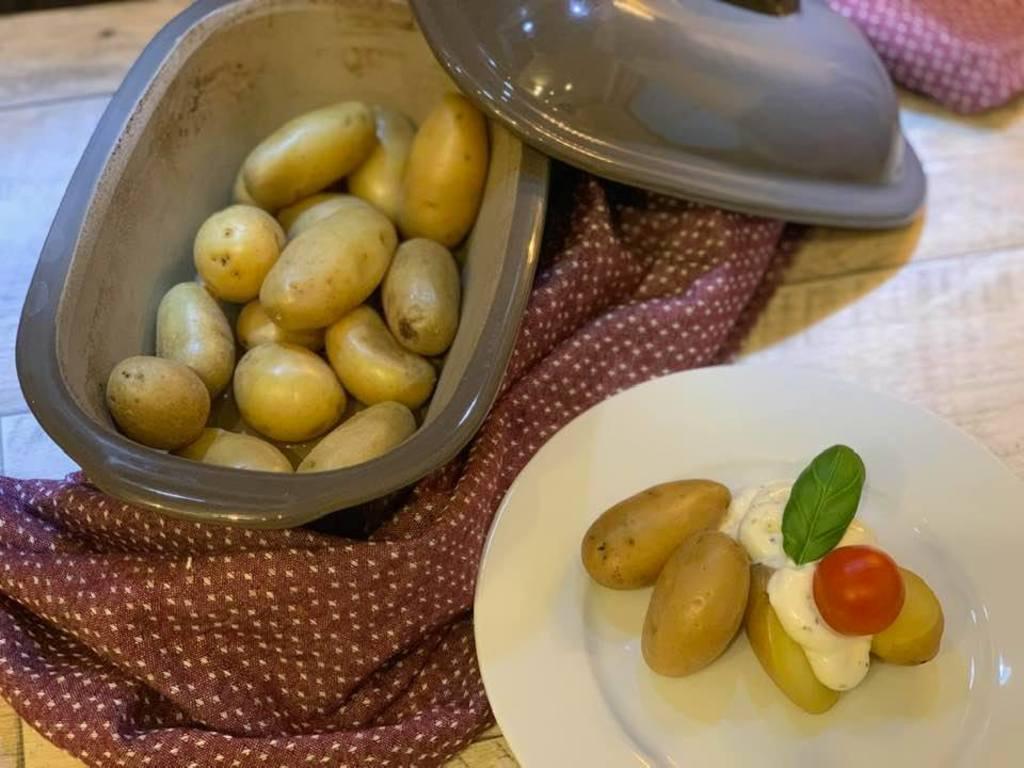 Kartoffeln aus dem Zaubermeister / Ofenmeister