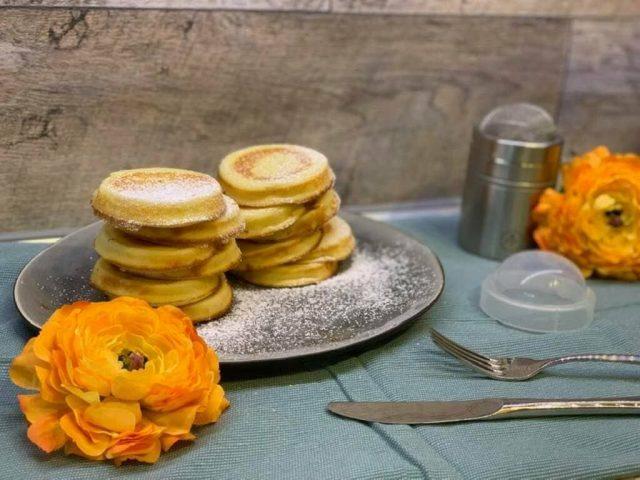 Original Amerikanische Pancakes aus der Mini – Pieform