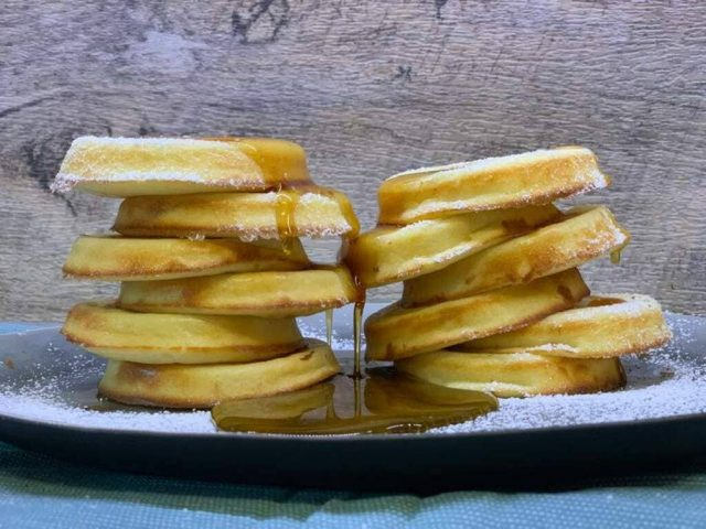 Original Amerikanische Pancakes aus der Mini - Pieform