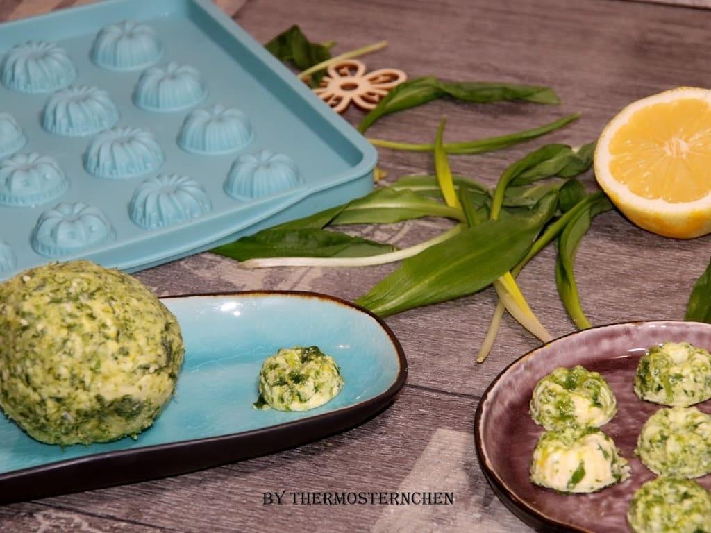 Bärlauch-Basilikum-Zitronen Butter