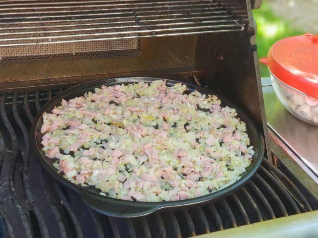 Champingons / Pilzpfanne auf dem Rockcrok wie vom Schützenfest