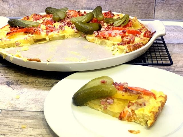 Bauernfrühstück / Ofen - Omlette nach Bauernart auf der White Lady