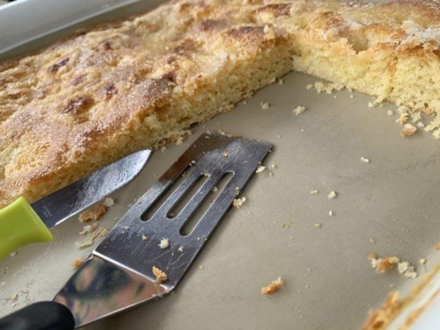 Zuckerkuchen aus dem flachen Bäker von Philipp Richter