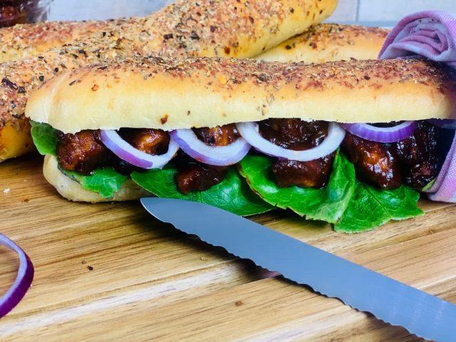 Subway Teriyaki Chicken Sandwich
