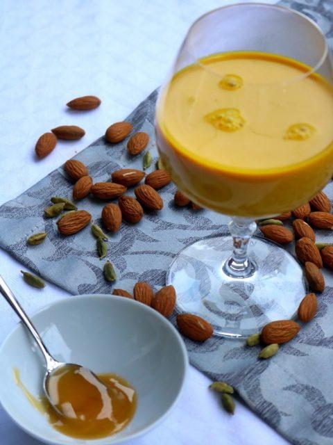 Golden Mandelmilch zur Stärkung des Immunsystems