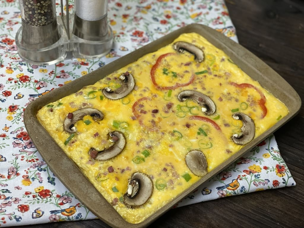 Eier Omelett vom Ofenzauberer