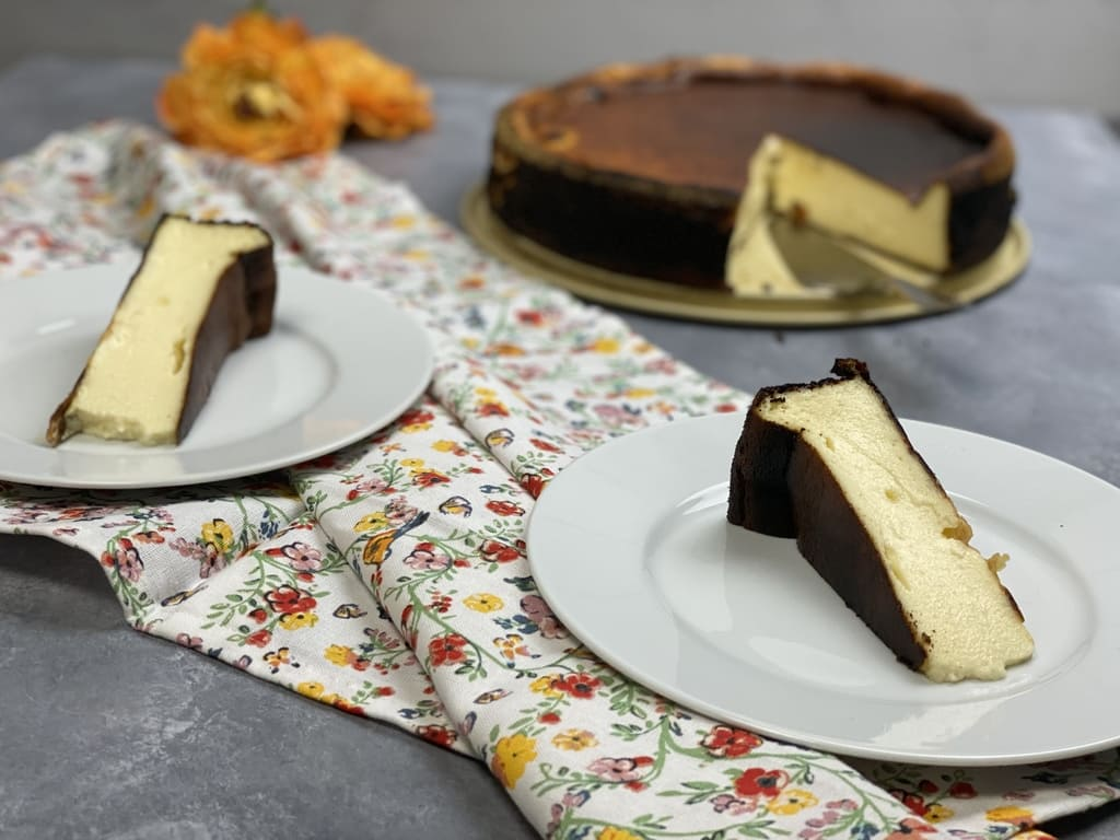 San Sebastian Cheesecake / Verbrannter Käsekuchen / Burnt Cheesecake