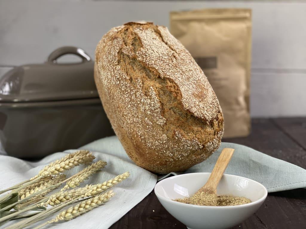 Brot ohne Kneten, Vinschgauer Art