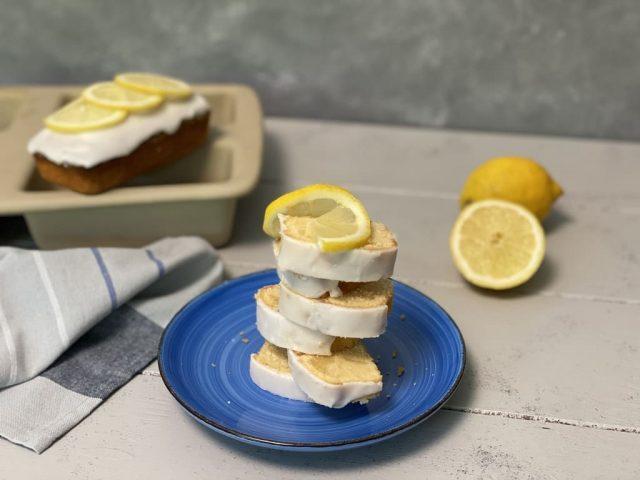 Zitronenkuchen aus der Mini-Kastenform  ( 4er Zauberkästchen )