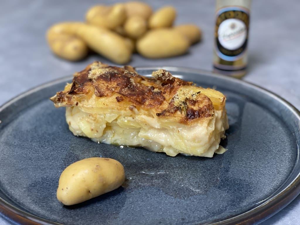 Kartoffelgratin aus der Mini - Kastenform