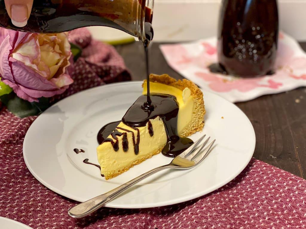 Schokoladensirup für Kuchen, Müsli und Milchschokolade