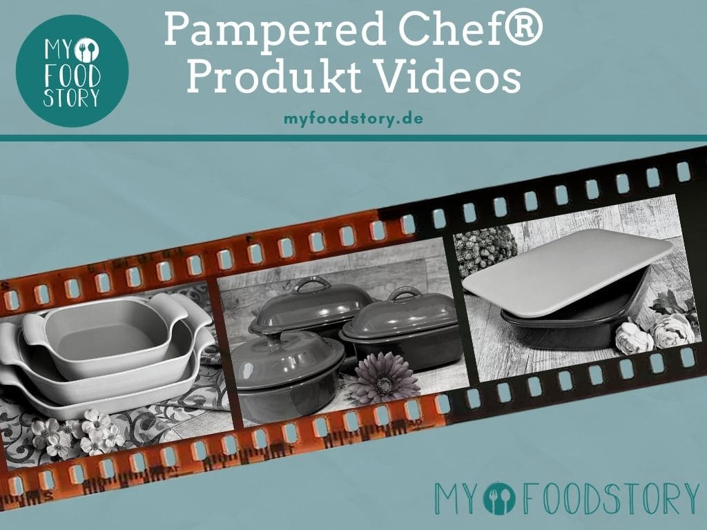 Pampered Chef Produkt Videos