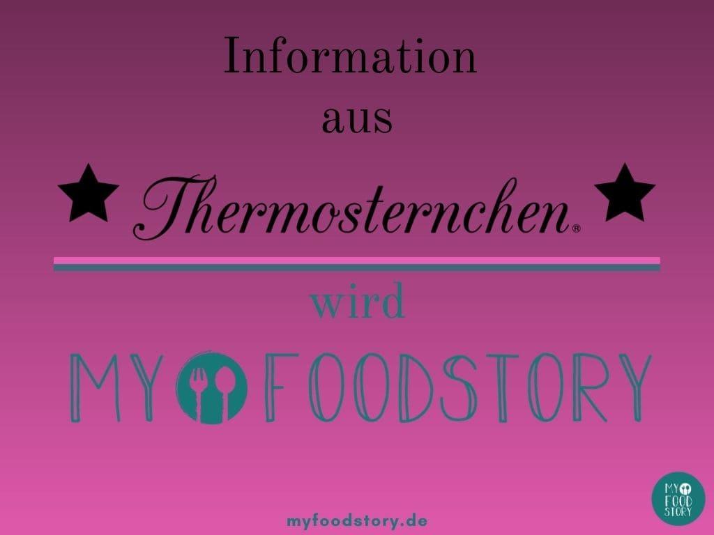 Aus Thermosternchen wird Myfoodstory