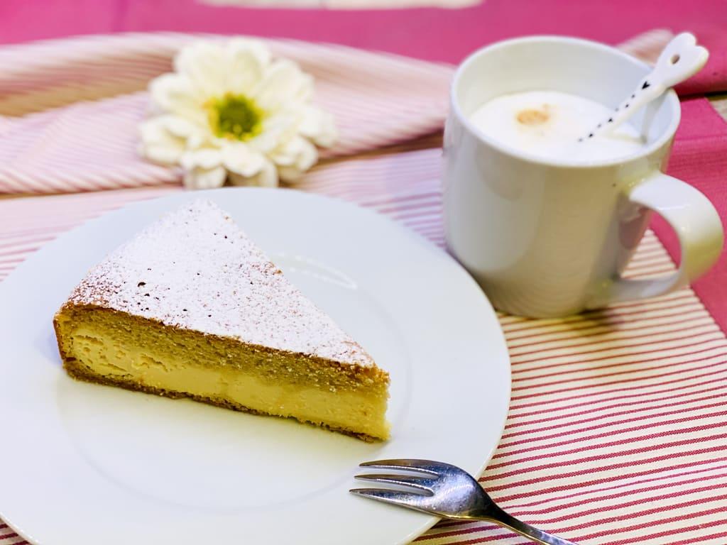 Dreh dich um Kuchen - Quarkkuchen