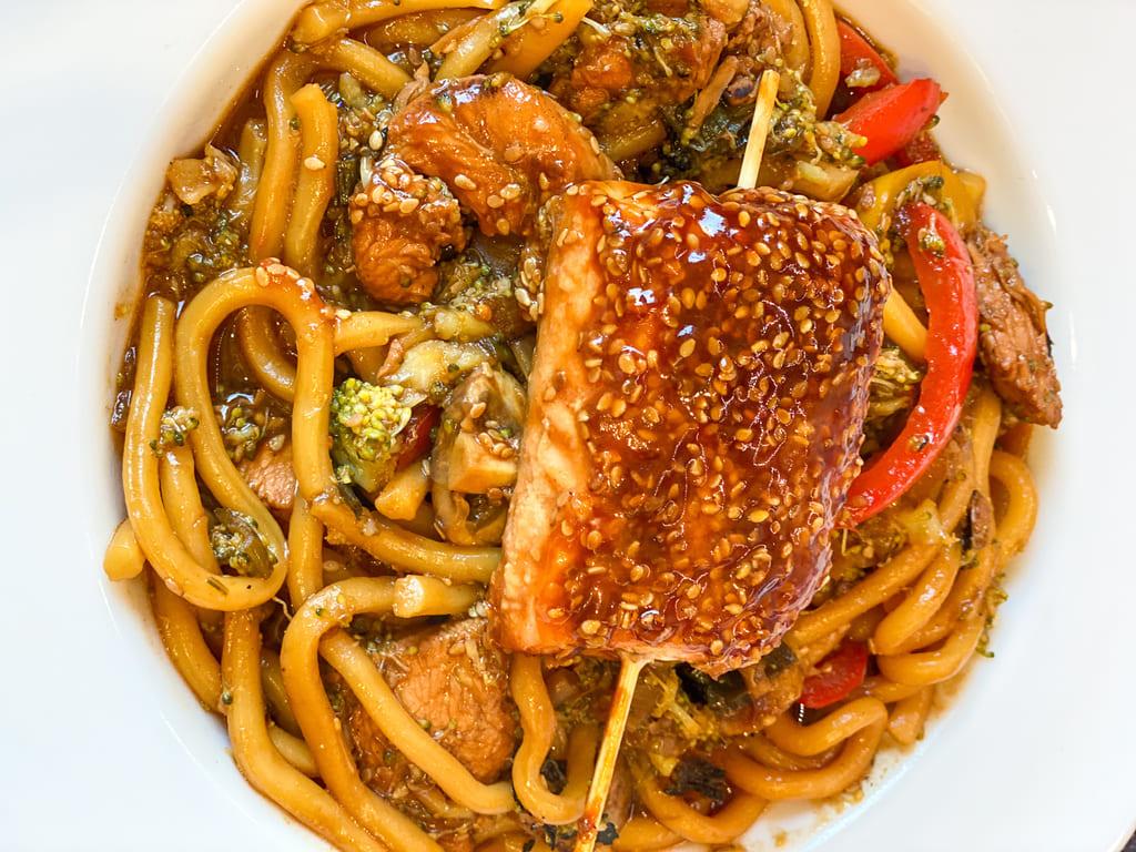 Honig - Sesam - Marinade für Lachs und Hähnchen