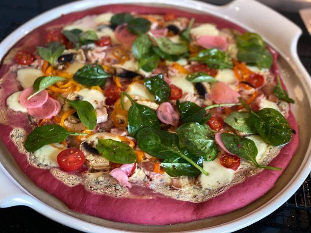 Pinke Pizza Principessa Teig