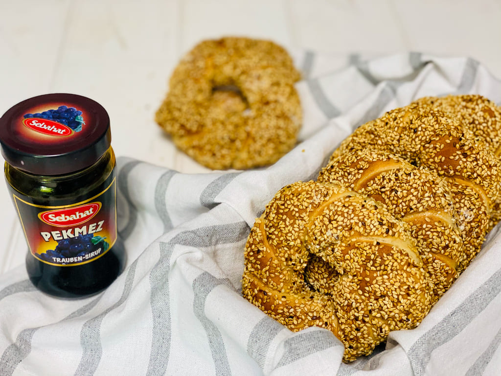 Simit / türkische Sesamringe / super lecker und einfach
