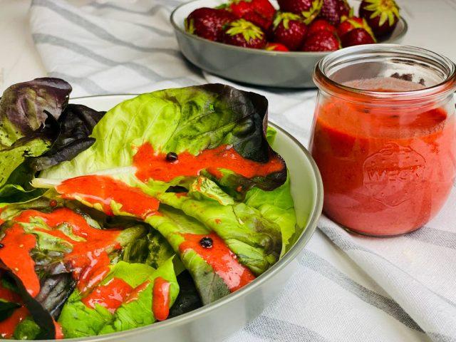 Erdbeer Vinaigrette